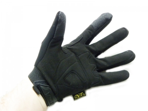 Перчатки Mechanix M-Pact FastFit черные (XL) (Л)