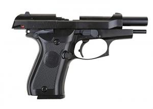 WE Страйкбольный пистолет BERETTA M84 GBB Professional Training (Green Gas)