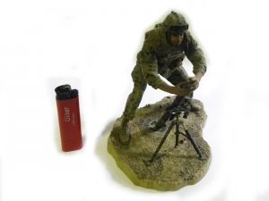 MCFARLANE'S MILITARY SERIES 6 MARINE MORTAR LOADER