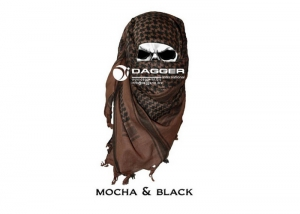 DAGGER Арафатка (шемаг) /Tactical Shemagh Mokko/Black/DI-9005